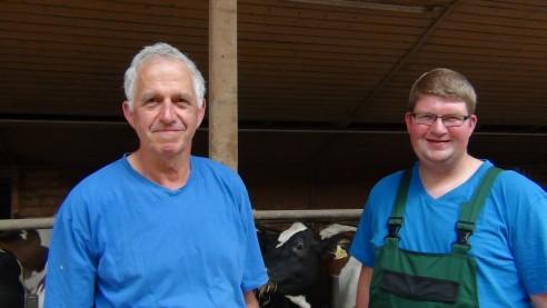Organisches Wachstum in der Milchviehhaltung – Familie Kramer Im Schwarzwald