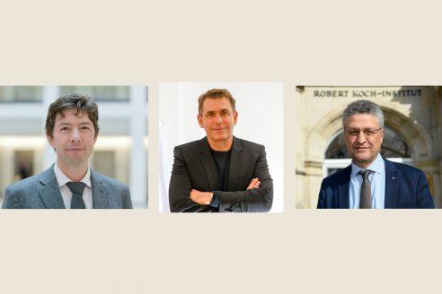 Ehrendoktortitel für Christian Drosten, Gerd Sutter und Lothar H. Wieler